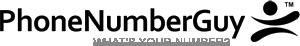 Phone Number Guy Logo